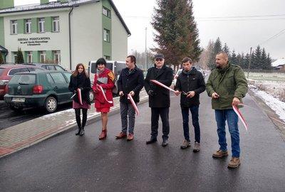 Przebudowa dróg Broniszów Dół - Lasek oraz Broniszów – Szkoła