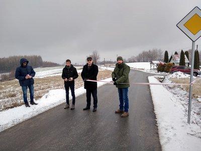 Przebudowa drogi Wielopole - Sośnice – Jaszczurowa