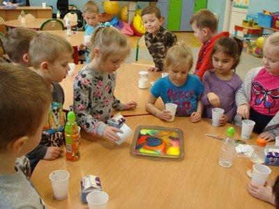 """Zajęcia dodatkowe dla przedszkolaków w ramach realizowanego projektu pn. """"Nowa Jakość Edukacji w Integracyjnym Przedszkolu Krasnala Hałabały"""""""