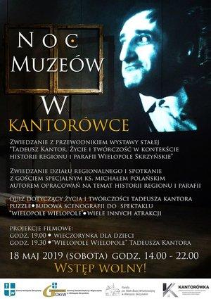 PIERWSZA NOC MUZEÓW w Wielopolu Skrzyńskim