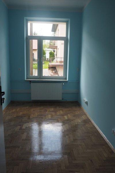Przystosowanie pomieszczeń dawnego przedszkola w Wielopolu Skrzyńskim  na potrzeby Gminnego Ośrodka Pomocy Społecznej