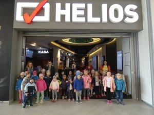 Wyjazd do kina dzieci z integracyjnych oddziałów przedszkolnych