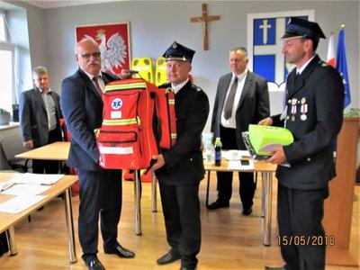 Nowy sprzęt ratowniczy dla Jednostek OSP z terenu Gminy Wielopole Skrzyńskie