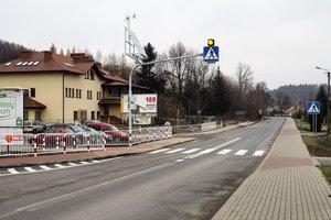 Budowa chodnika wraz z oznakowanym przejściem dla pieszych wzdłuż drogi wojewódzkiej Tuszyma - Ropczyce - Wiśniowa w miejscowości Wielopole Skrzyńskie