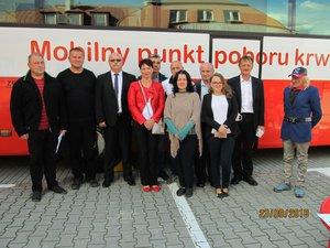 Akcja Honorowego oddawania krwi  w Wielopolu Skrzyńskim
