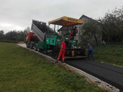 Przebudowa drogi gminnej Nawsie k. Traciak