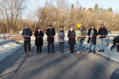 Przebudowa mostu na drodze powiatowej Brzeziny - Brzeziny Pogwizdów