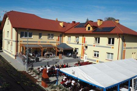 Uroczyste otwarcie budynku Warsztatów Terapii Zajęciowej w Wielopolu Skrzyńskim
