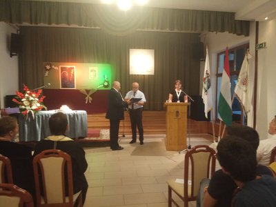 Wizyta Samorządu Gminy Wielopole Skrzyńskie w partnerskiej gminie Bodrogkeresztúr