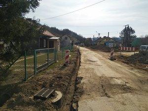 Przebudowa drogi wewnętrznej Wielopole Stara Droga