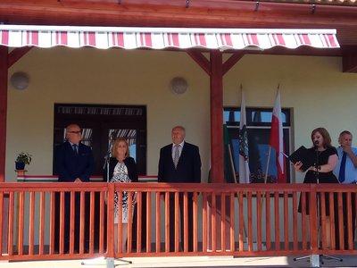 Otwarcia nowego przedszkola w partnerskiej Gminie  Bodrogkeresztúr