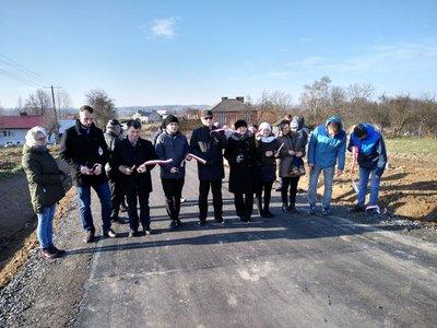 Rozbudowa drogi gminnej Wielopole - Granice Etap I