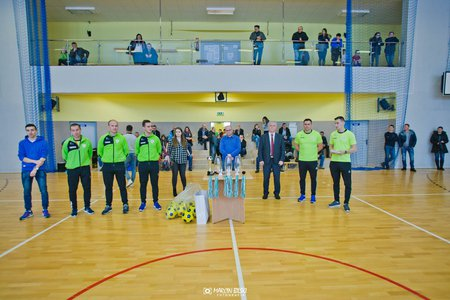 Halowe Turnieje Lokalizacji Akademii o Puchar Burmistrza Gminy Rymanów i Dyrektora Akademii