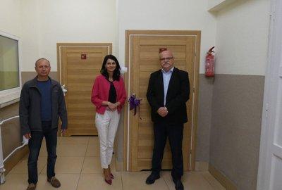 Likwidacja barier architektonicznych w Szkole Podstawowej im. Św. Jana Pawła II w Gliniku