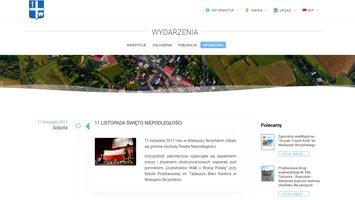 Nowa strona internetowa Gminy Wielopole Skrzyńskie