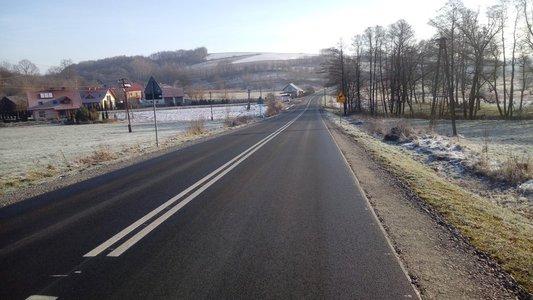Odnowa  drogi wojewódzkiej Nr 986 Tuszyma – Ropczyce  – Wiśniowa w miejscowości Wielopole Skrzyńskie