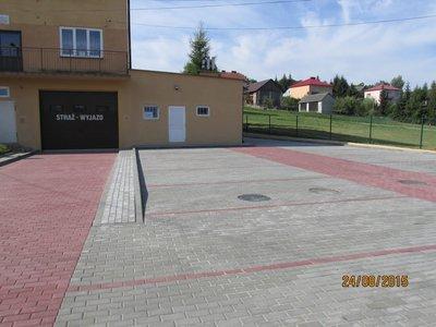 Przebudowa wjazdu i placu manewrowego pod remizą OSP w Nawsiu