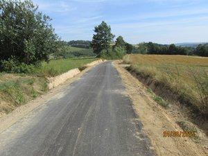 Przebudowa drogi Brzeziny Zagrody