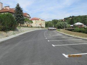 Przebudowa drogi Gminnej nr 107742R Brzeziny - Łęg