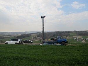 Wykonanie otworów poszukiwawczych za wodą w miejscowościach Broniszów i Glinik