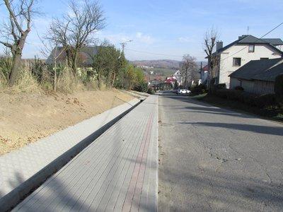 Budowa chodnika w ciągu drogi Wielopole - Sośnice - Jaszczurowa