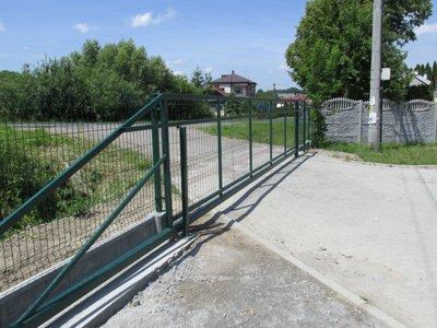 Wykonanie ogrodzenia na Ośrodku Sportu w Wielopolu Skrzyńskim