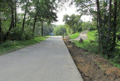 Przebudowa drogi powiatowej Nr 1343R Gnojnica – Broniszów w m. Broniszów