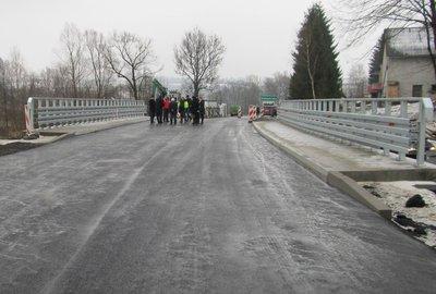 Przebudowa Mostu w ciągu drogi powiatowej 1296R Dębica – Wielopole w m.  Wielopole Skrzyńskie