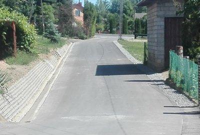 Przebudowa drogi Glinik Skórówka