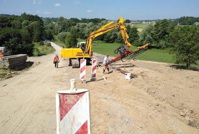 Zabezpieczenie drogi gminnej Glinik - Łysa Góra - Mała ETAP II