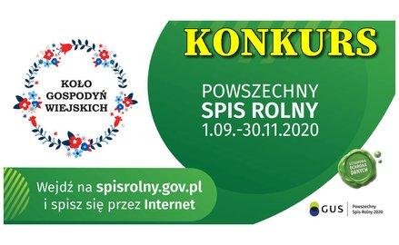 """Konkurs dla Kół Gospodyń Wiejskich """"W Koło PSR 2020"""""""