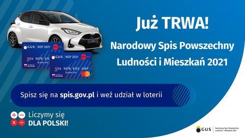 Spisz się na spis.gov.pl i weź udział w loterii