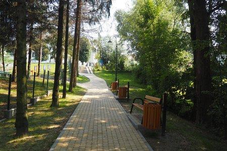 Przebudowa ciągu komunikacyjnego przy placu zabaw w Wielopolu Skrzyńskim