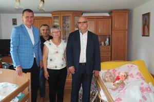 Jubileusz 100-lecia urodzin Pani Anny Sypień z Nawsia