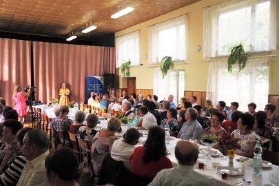 Spotkanie członków Klubów Seniora z Gminy Wielopole Skrzyńskie