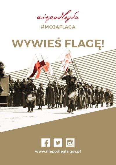 Świętujmy razem – wywieś flagę narodową