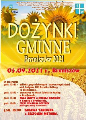 Dożynki Gminne Broniszów 2021