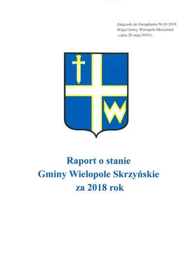 Raport o stanie Gminy Wielopole Skrzyńskie za 2018 rok