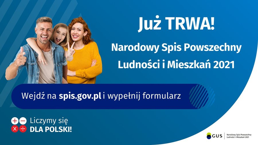 NARODOWY SPIS POWSZECHNY JUŻ TRWA !