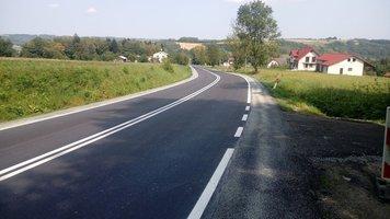 Przebudowa drogi wojewódzkiej nr 986 Tuszyma – Ropczyce – Wiśniowa w miejscowości Wielopole Skrzyńskie