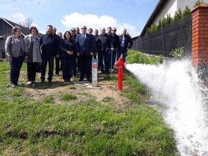 Budowa sieci wodociągowej w miejscowości Glinik