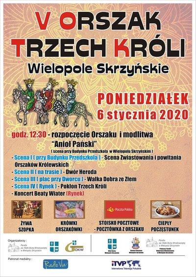 V Orszak Trzech Króli w Wielopolu Skrzyńskim